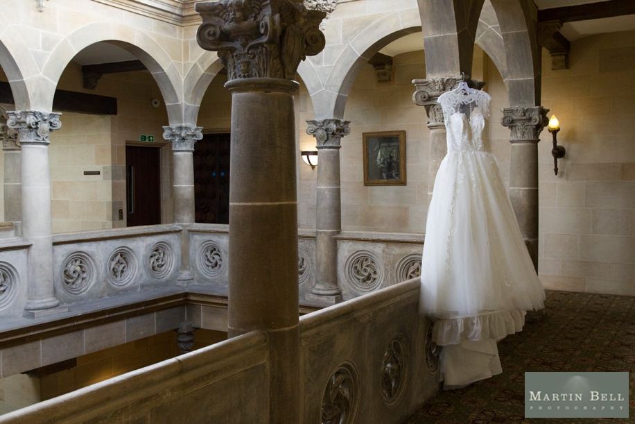 Northcote House wedding - Bride's stunning wedding dress