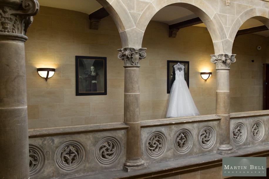 Northcote House wedding - Bride's stunning wedding dress