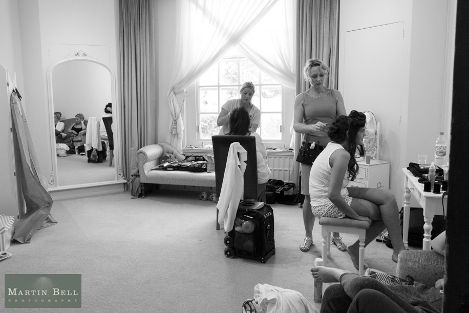 Documentary wedding photography at Northcote House in Ascot