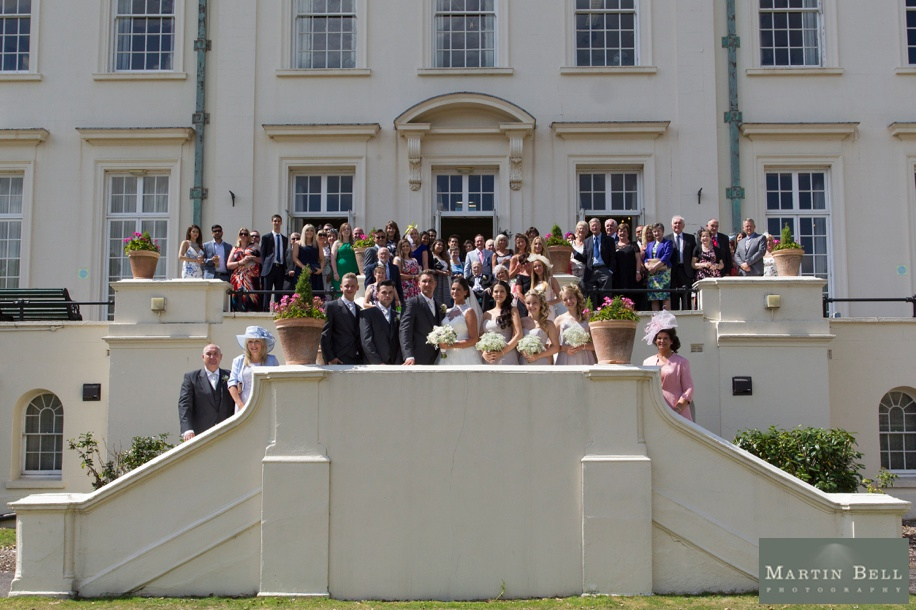 Wedding photographs at Northcote House