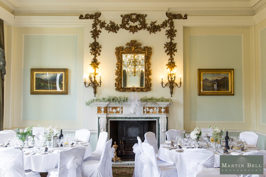Northcote House wedding breakfast ideas