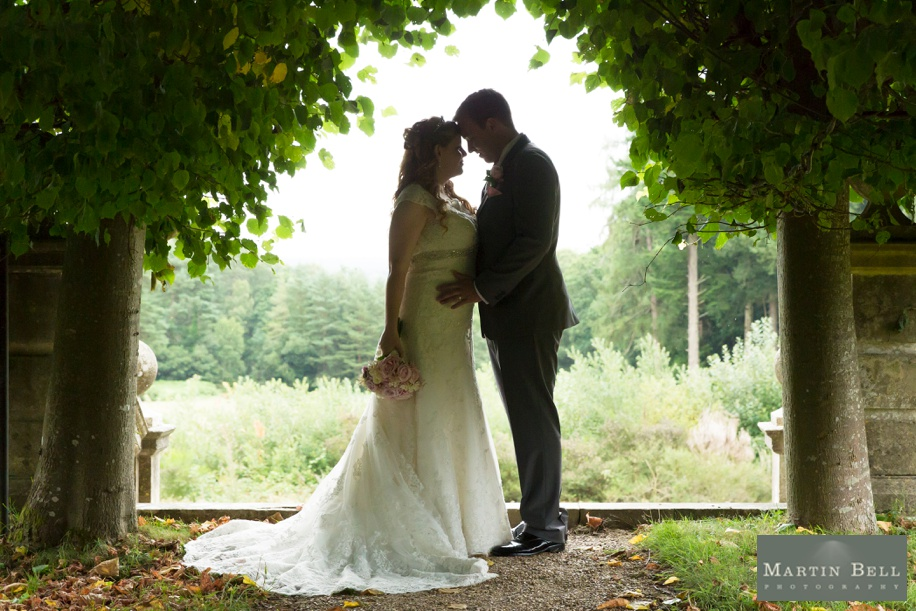Rhine field House wedding - Bride and Groom photographs - Martin Bell Photography