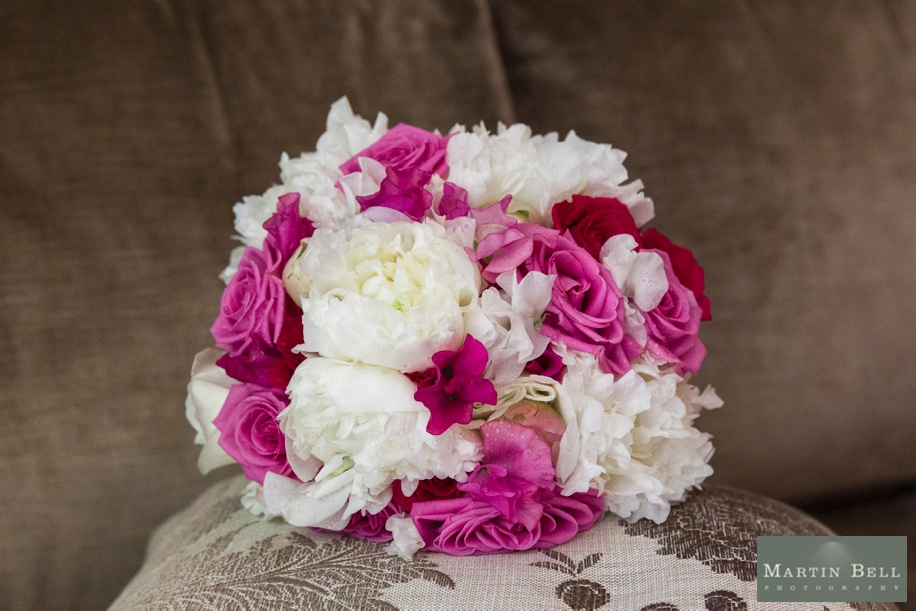 Gorgeous pink and white wedding bouquet ideas