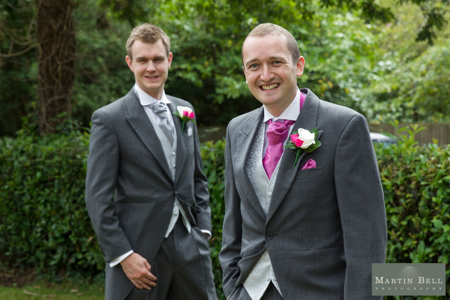 Groom and Best man photographs