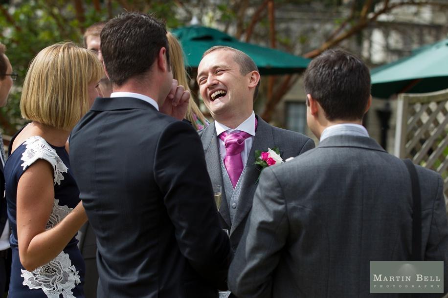 Rhinefield House wedding photography - Happy Groom