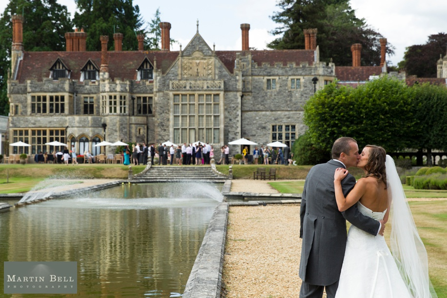 Rhinefield House wedding photography - Bride and Groom photographs