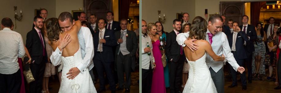 Rhinefield House wedding photography - first dance