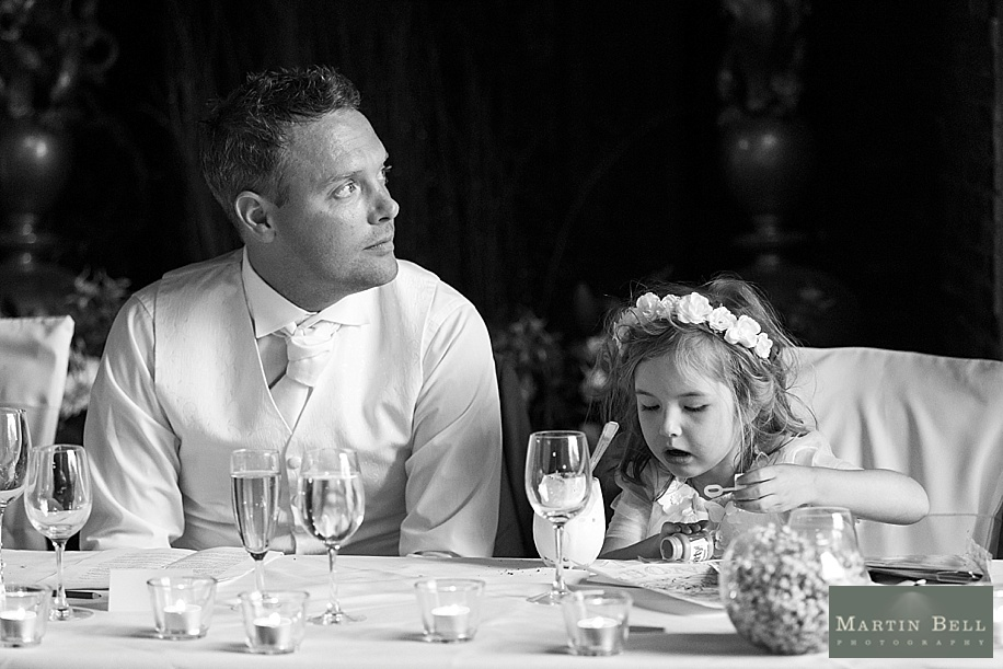 Rhinefield House wedding photography - speehes
