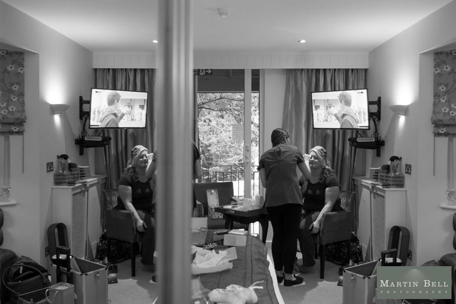 Maxwell Hotel wedding - Bridal Preparations