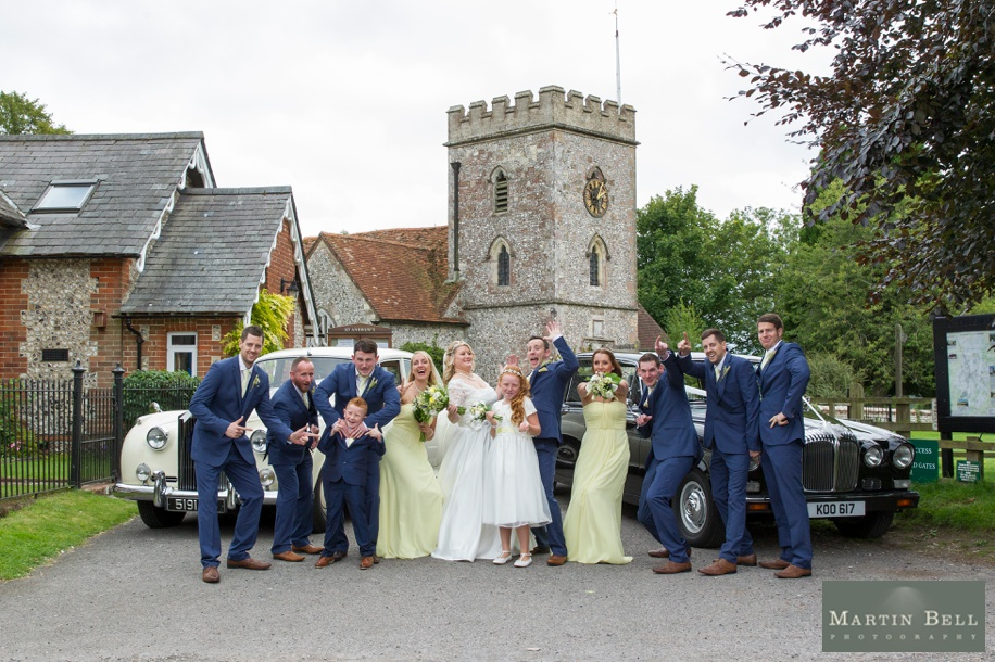 Fun Group photographs at St Andrews Church in Owslebury