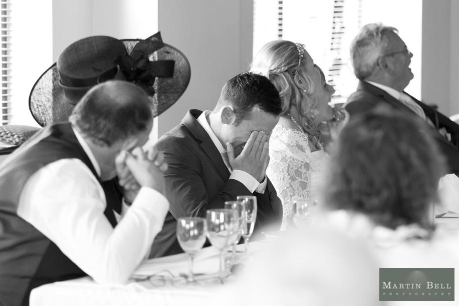 Documentary wedding photography at East Horton Golf Club