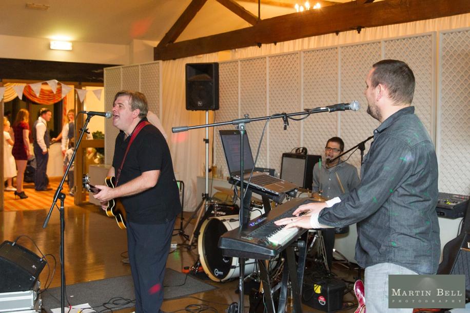Live band at East Horton Golf Club