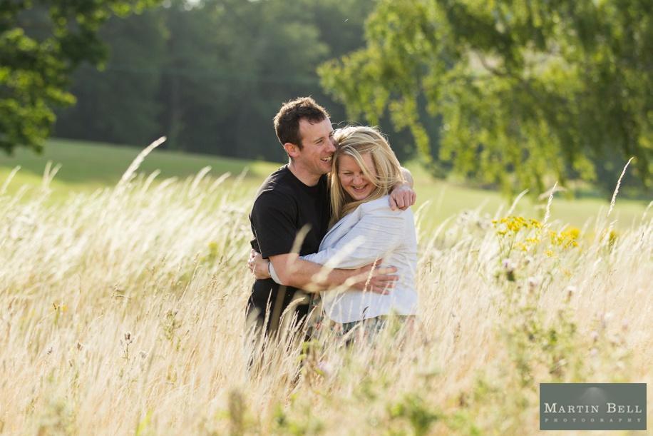 East Horton Golf Club engagement photo shoot