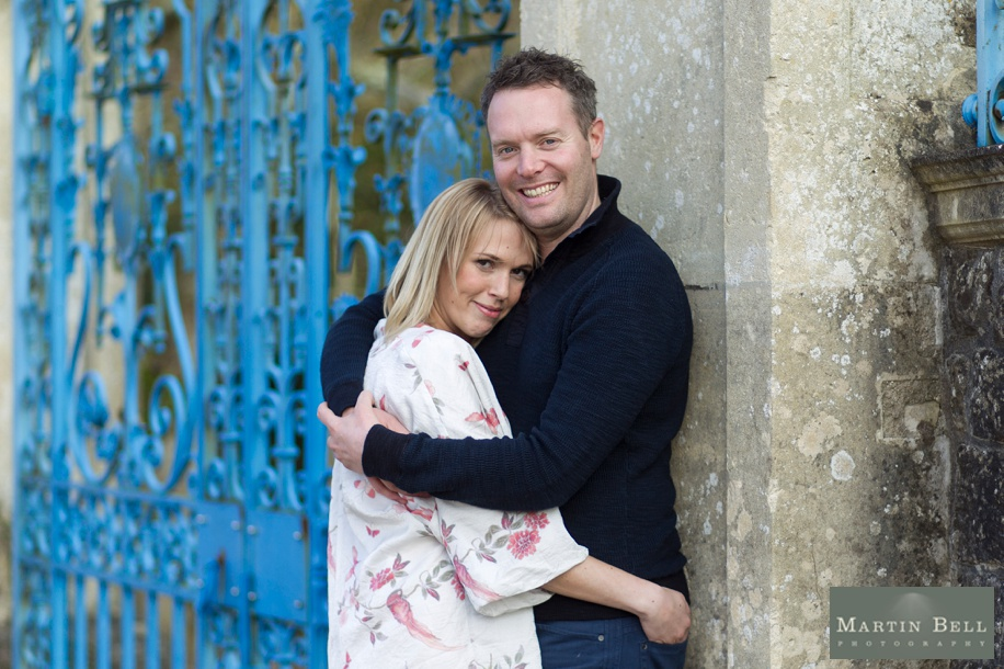 Rhinefield House engagement photo shoot