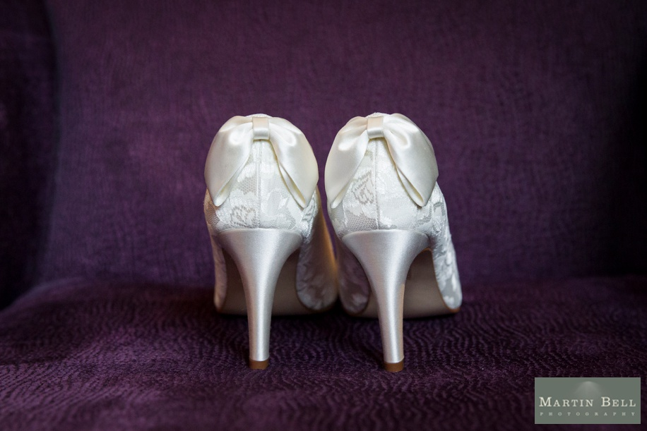 beautiful ivory wedding shoes