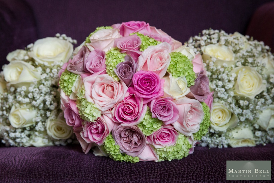 pink and ivory wedding bouquet ideas - exclusively weddings