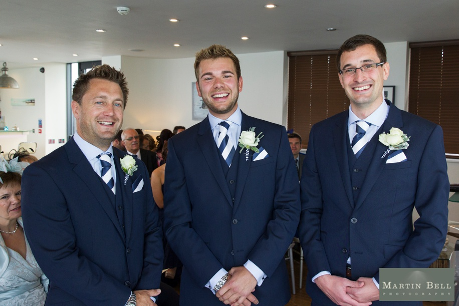 Groomsmen photograph before ceremony