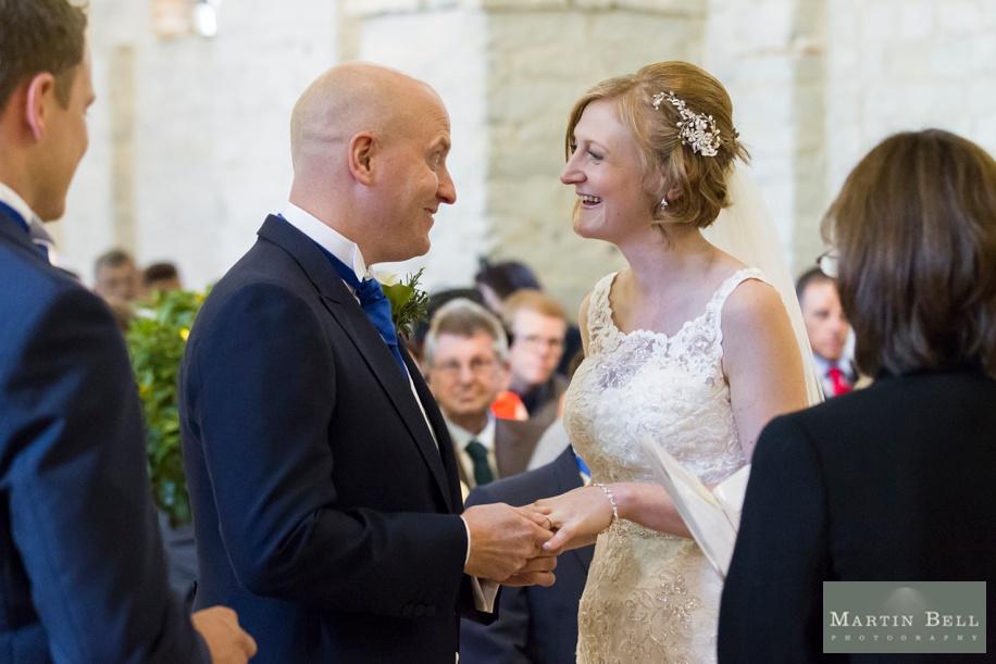 Tithe Barn wedding ceremony