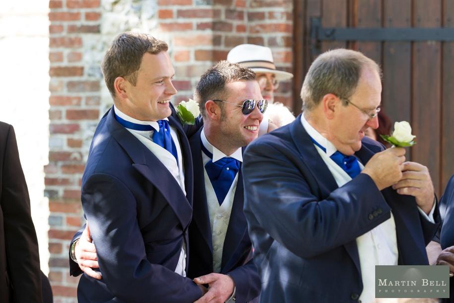 drinks reception documentary wedding photographs at Tithe Barn