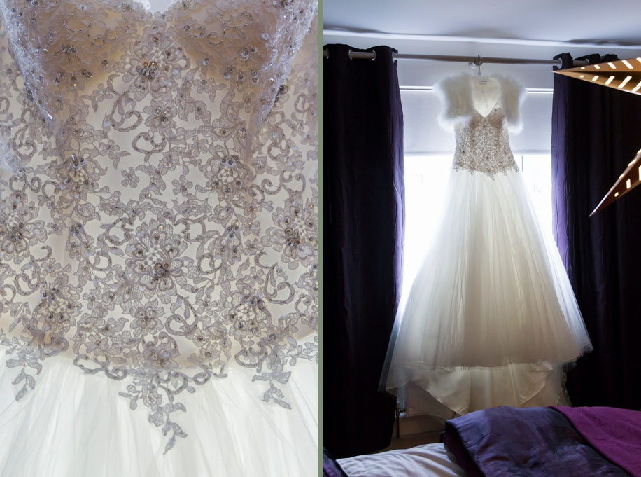 beautiful wedding dress - Wedded Bliss Bridal studio - Wedding at Elmers Court