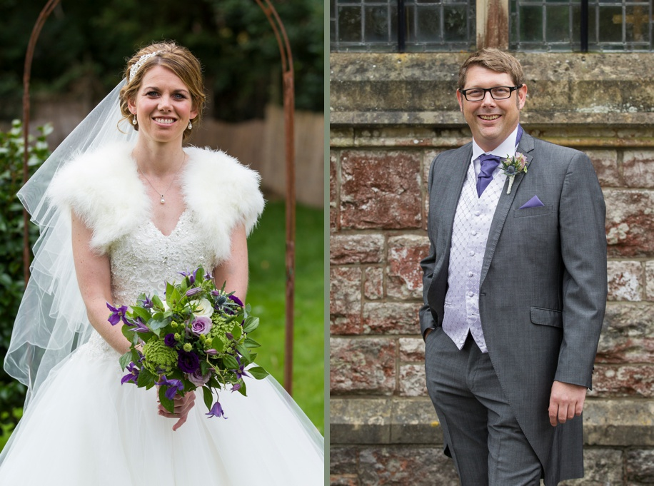 Beautiful Bridal portraiture - St Thomas All Saints Church, Lyminton wedding