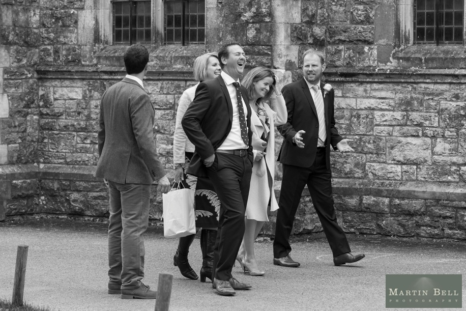 Wedding photographer Hampshire - St Thomas All Saints Church, Lyminton wedding