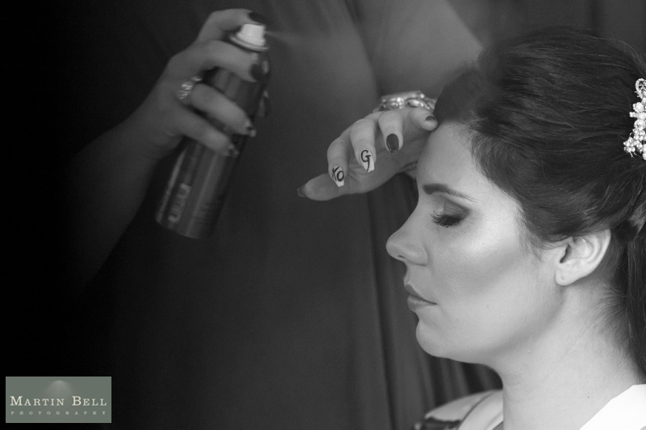 Hampshire wedding photographer - Rhinefield House Munroe Suite on a wedding day - Bridal preparations