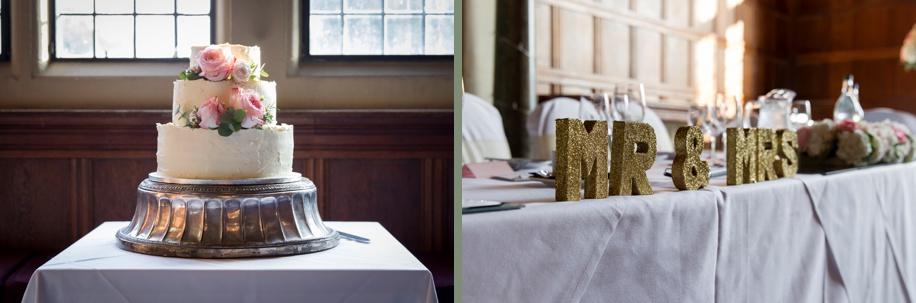 Rhinefield House wedding - Grand Hall wedding breakfast