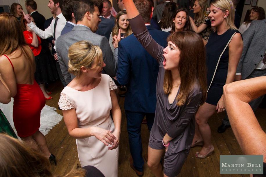 Evening wedding reception at Rhinefield House
