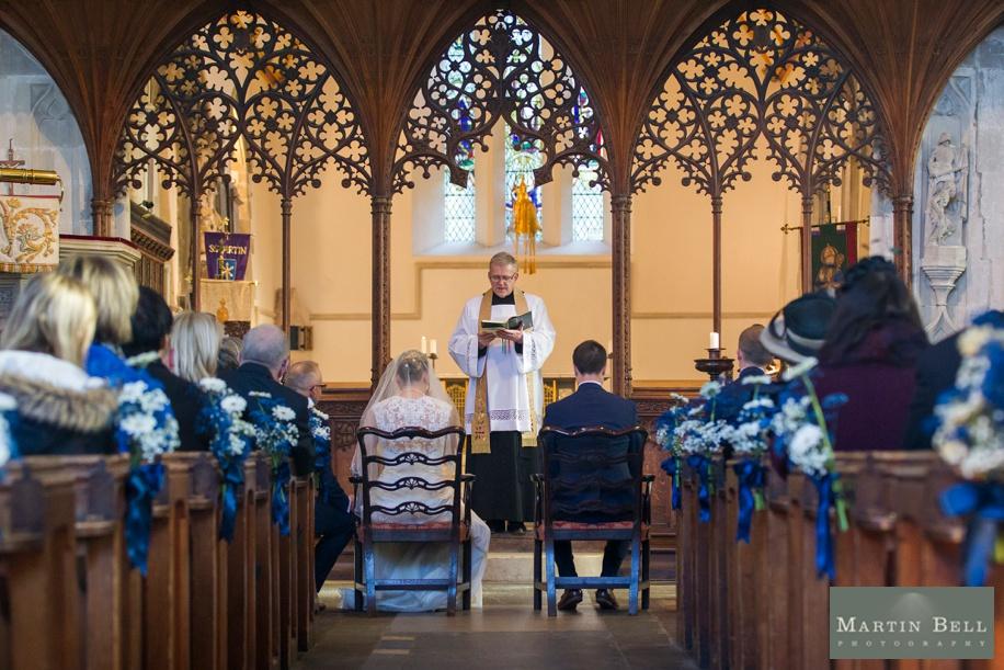 Stunning wedding photography - Sarum St Martins Church in Salisbury wedding