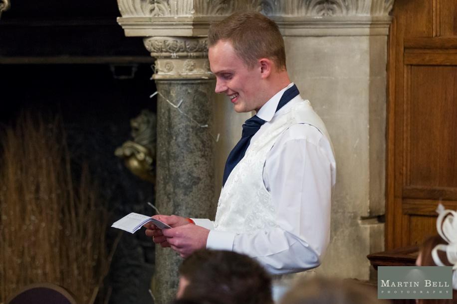 Rhine field House wedding speeches