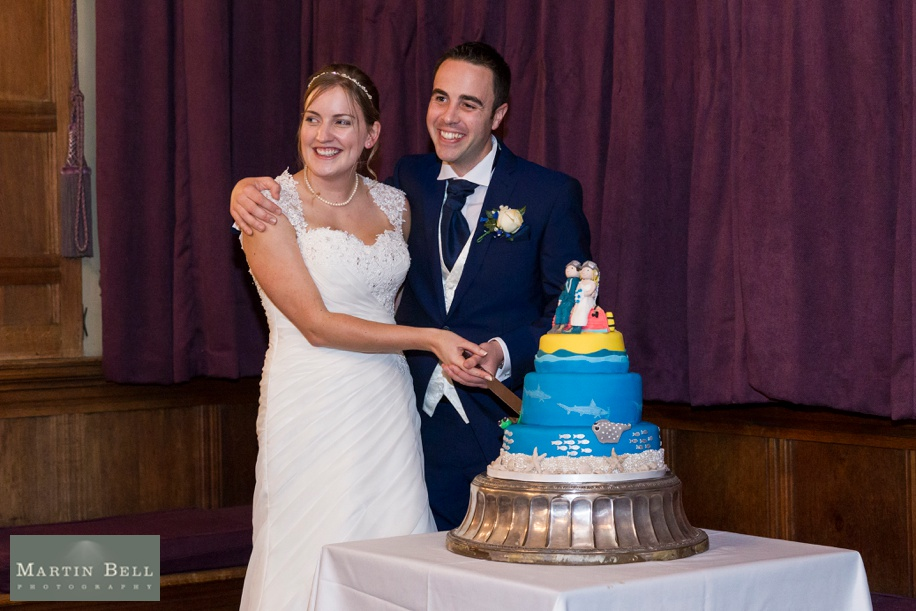 Cake cutting at Rhinefield House