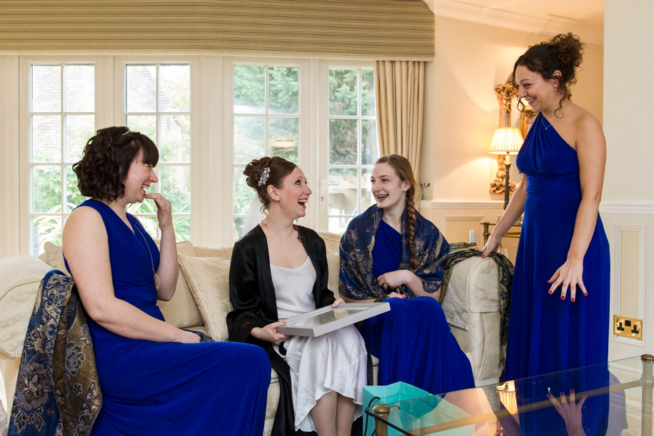 Wedding photographers Dorset - Documentary wedding photography at the Lord Bute Hotel