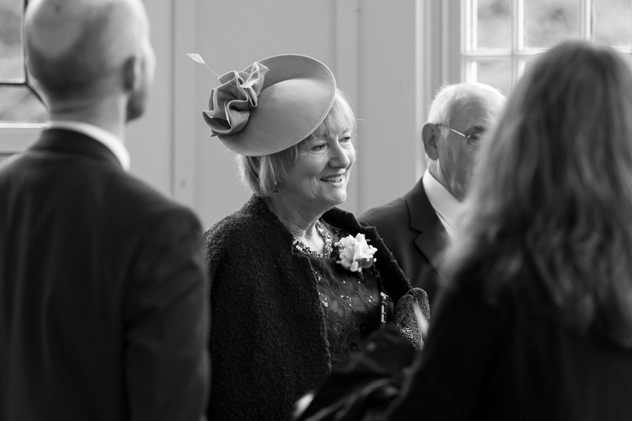 Highcliffe Caslte weddings - documentary photography during the guests arriving