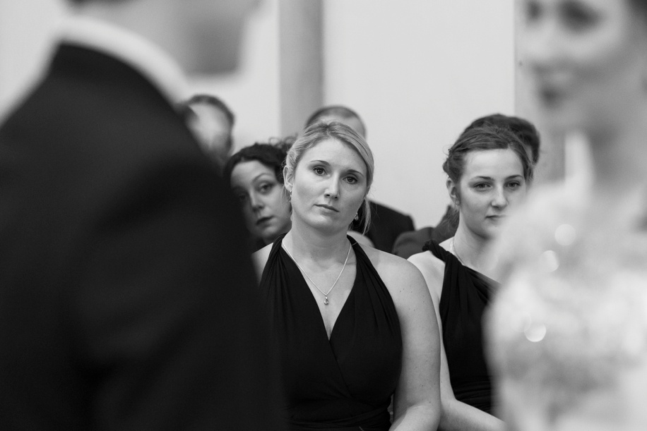 Documentary wedding photography at Highcliffe Castle in Dorset