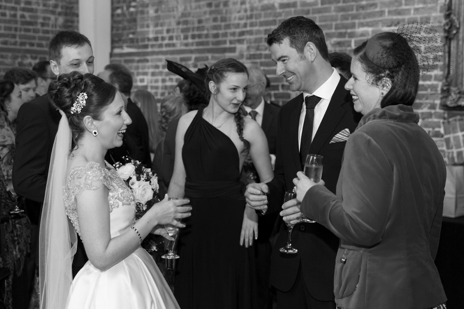 exclusive use weddings at Highcliffe Castle - Documentary, candid and reportage wedding photography