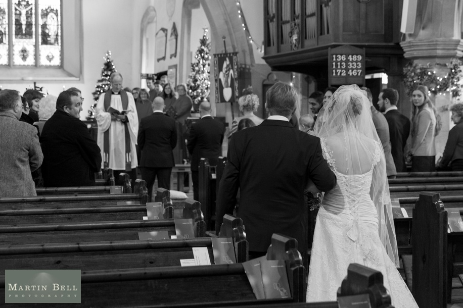 Hampshire documentary wedding photography at St Peters Church in Bishops Waltham