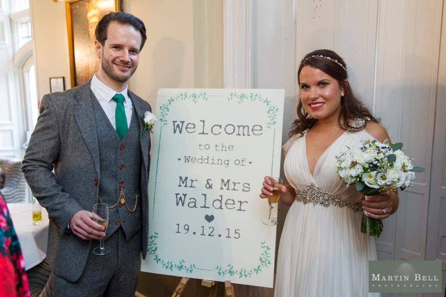 Unique wedding ideas - welcome signs