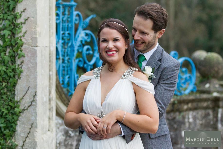 Fun Bridal party photographs at a Rhinefield House winter wedding