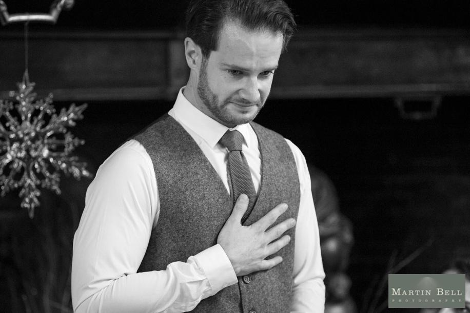 Rhinefield House wedding photography - Grooms speech