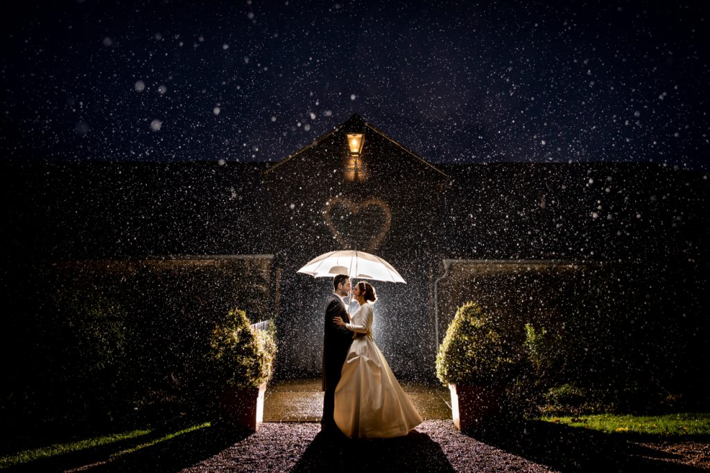 Award winning Hampshire wedding photographer - Upwaltham Barns by Martin Bell Photography