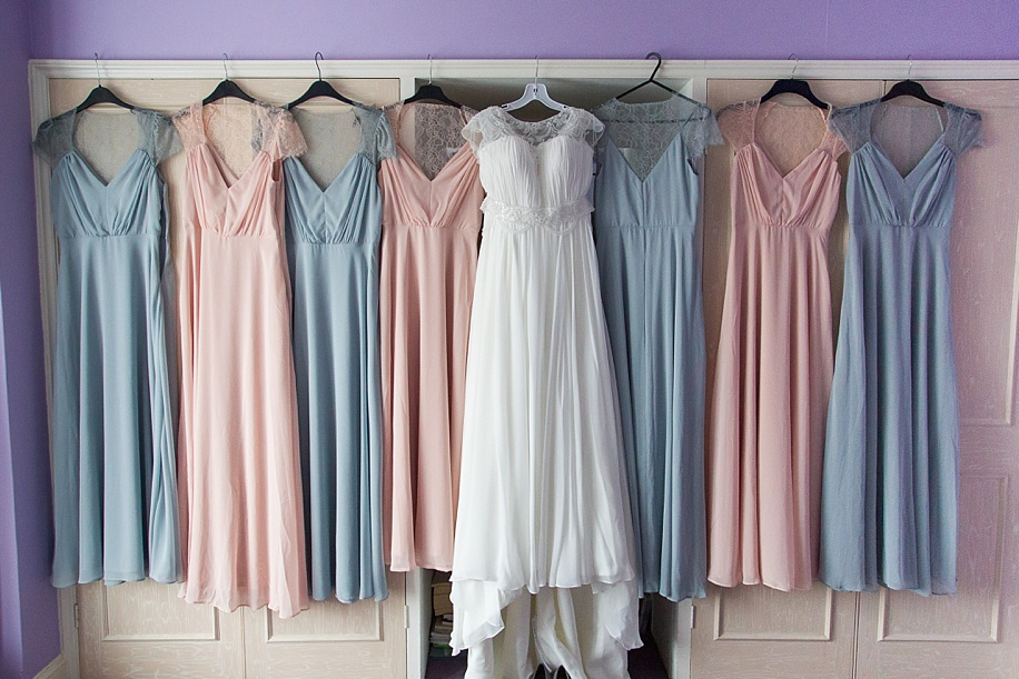 G~orgeous pastel wedding dress ideas