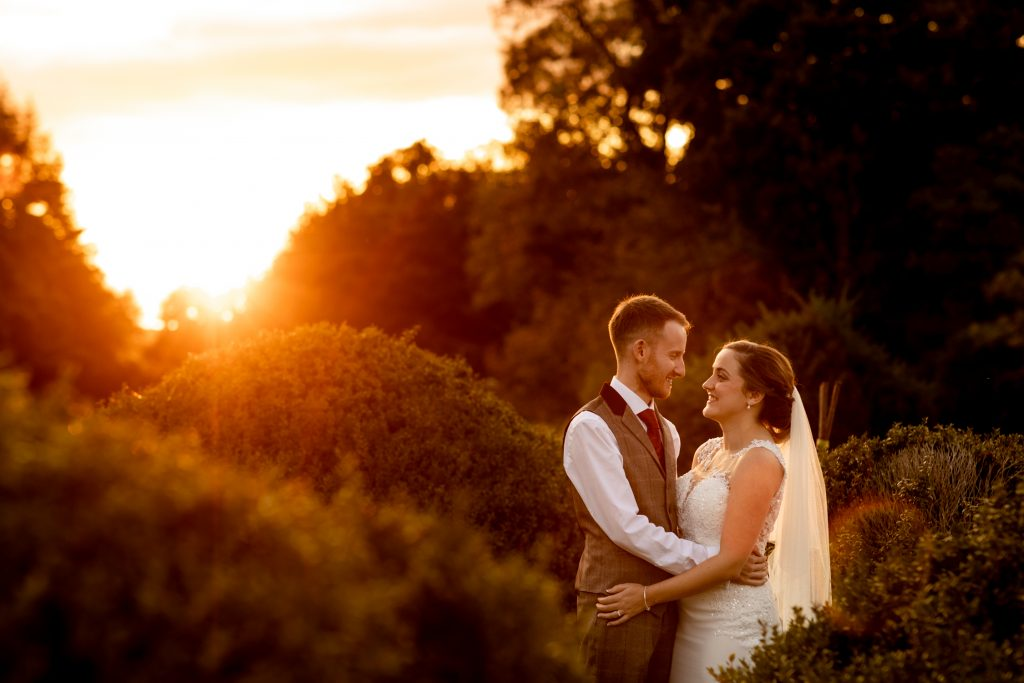 Award winning Hampshire wedding photographer - Bride and Groom portraits by Martin Bell Photography
