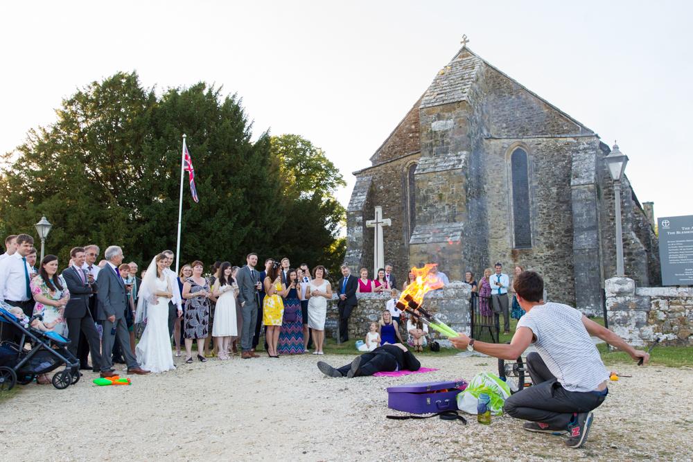 Wedding photographs at The Domus, Beaulieu