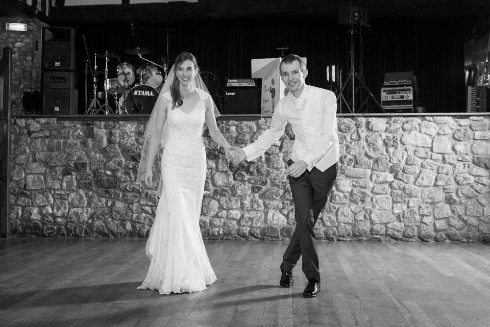 Wedding first dance at The Domus, Beaulieu