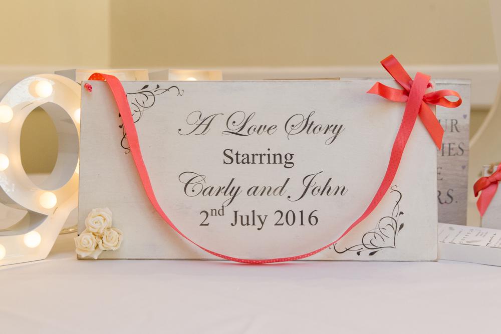unique wedding ideas - wedding signs