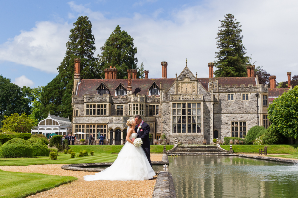 Epic Rhinefield House wedding photographs in the New Forest