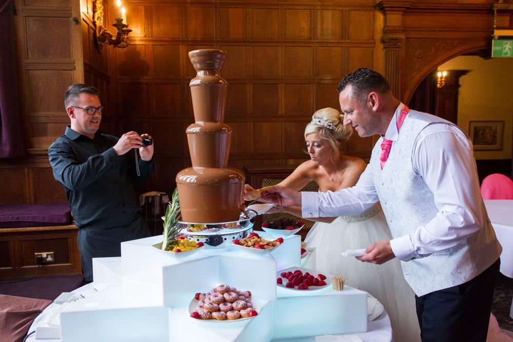 Chocolate Fountain for weddings