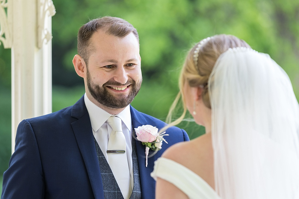 Outdoor Lainston House wedding photography by award winning Hampshire wedding photographer, Martin Bell Photography