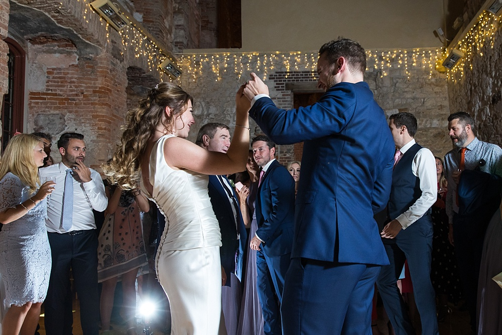 A fun Lulworth Castle wedding by award winning wedding photographer Martin Bell Photography - TWIA wedding photographer of the year